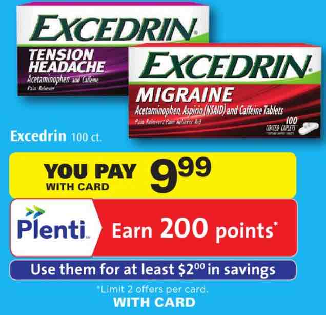 Excredin Products Printable Coupon