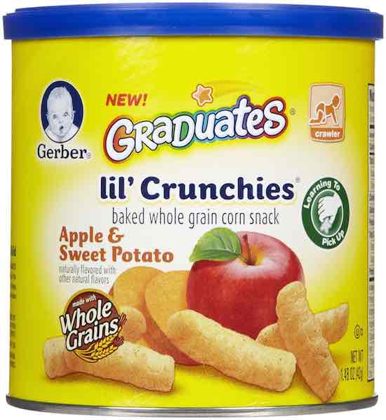 Gerber Graduates Lil' Crunchies Printable Coupon