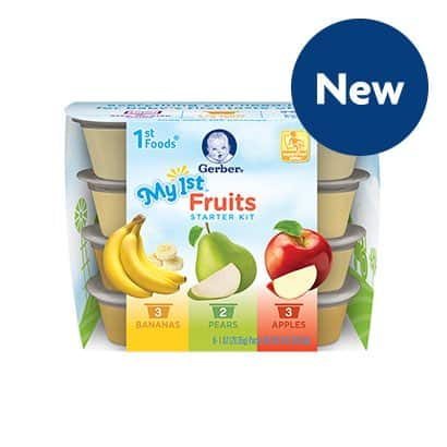 Gerber My First Fruits Printable Coupon