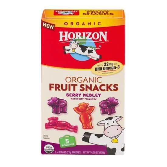 Horizon Fruit Snacks Printable Coupon