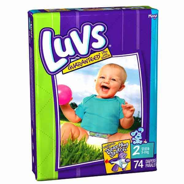 Luvs Diapers Printable Coupon
