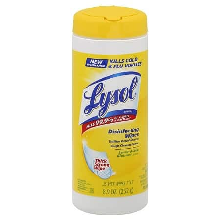 Lysol Disinfecting Wipes Printable Coupon