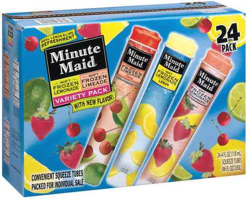 MINUTE MAID® FROZEN NOVELTY Printable Coupon