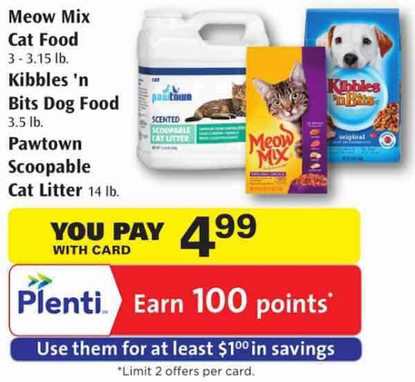 Meow Mix Cat Food Printable Coupon