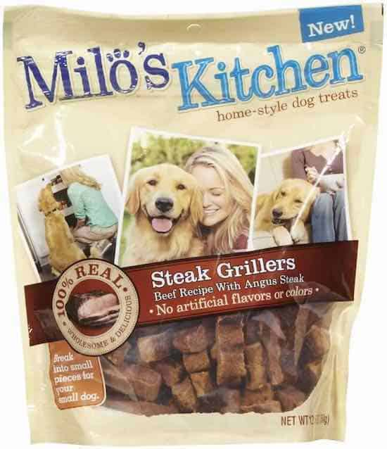 Milo's Kitchen Dog treats Printable Coupon
