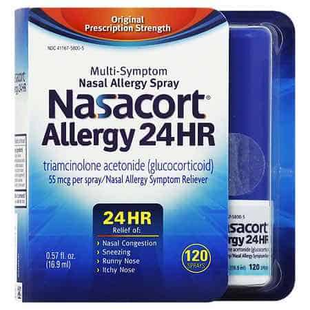 Nasacort 24HR 120 Spary Printable Coupon