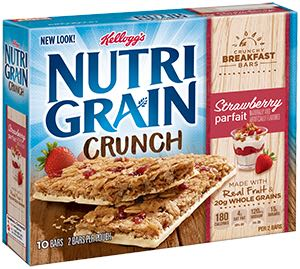 Nurtri-Grain Crunchy Breakfast Bars Printable Coupon