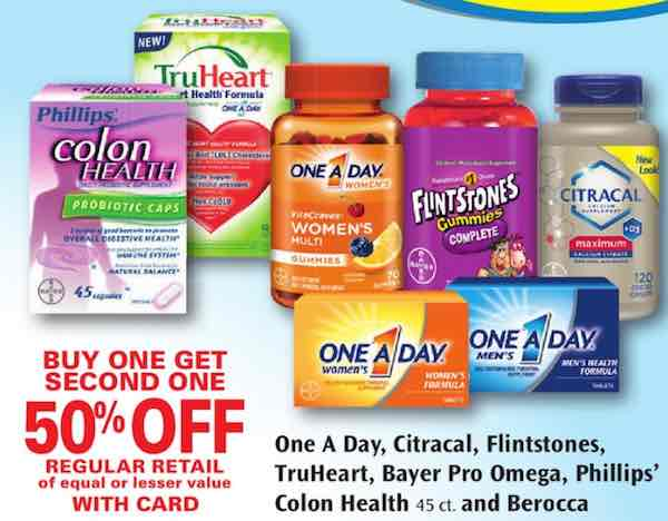 One A Day Multivitamins Printable Coupon
