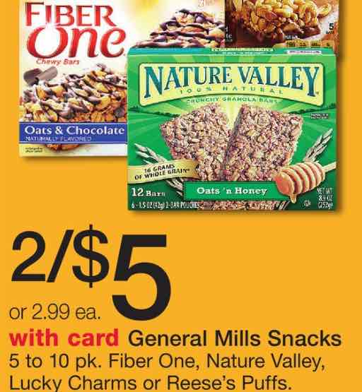 Snack Bars Printable Coupon