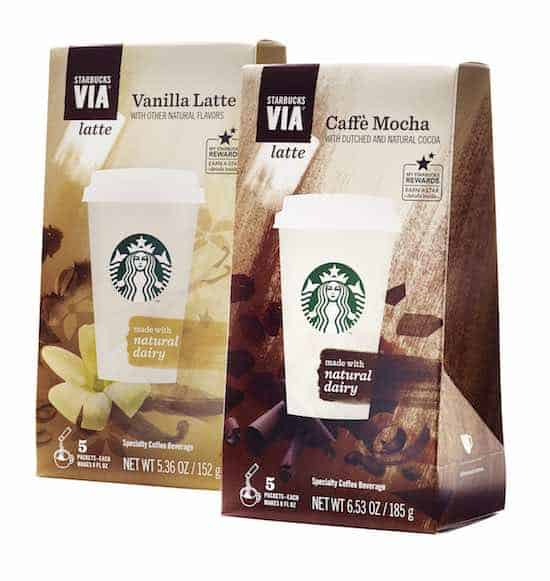 Starbucks VIA Printable Coupons
