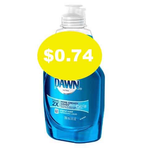 photograph regarding Dawn Printable Coupon titled Sunrise Dish Cleaning soap Simply just $0.74 At Walgreens! - Printable Discount codes