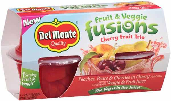Del Monte Veggie Fusions Printable Coupon