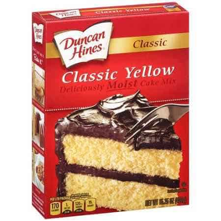 Duncan Hines Cake Mix Printable Coupon