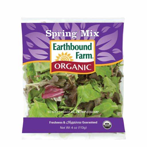 Earthbound Farms Bagged Salad Printable Coupon