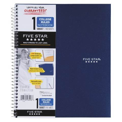 Five Star Notebook Printable Coupon