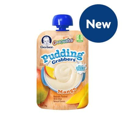 Gerber Graduates Pudding grabbers Printable Coupon
