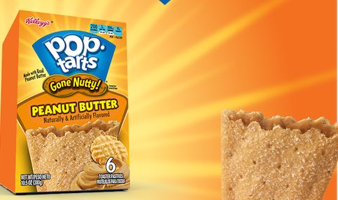 photograph relating to Pop Tarts Coupon Printable called Obtain Kelloggs Absent Nutty Pop-Tarts Simply $1.48 At Walmart
