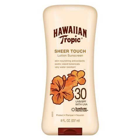 Hawaiian Tropic Sunscreen Printable Coupon