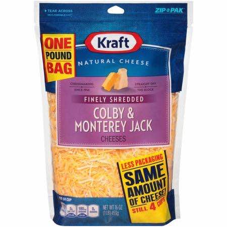 Kraft Shredded Cheese Printable Coupon