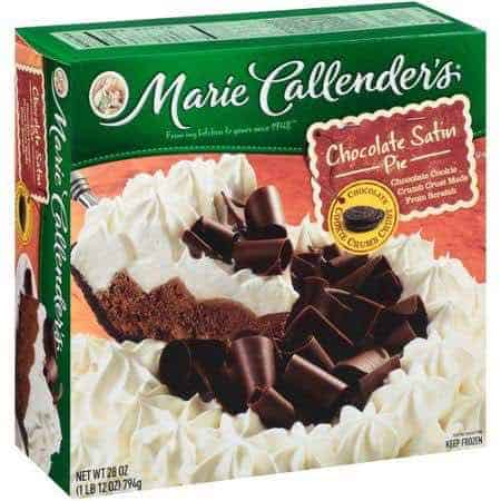 Marie Callender's Dessert Pies Printable Coupon