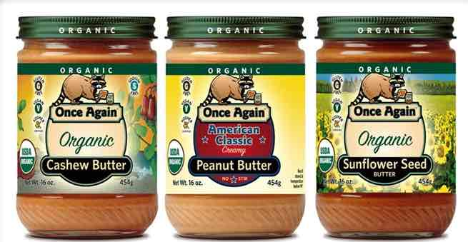 Once Again Nut Butter Printable Coupon