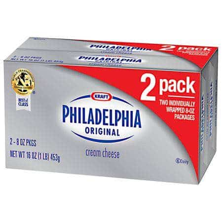Philadelphia Cream Cheese 2pack Printable Coupon