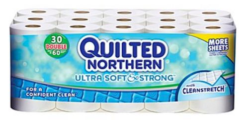 Quilted Northern Bath Tissue 30 Double Rolls