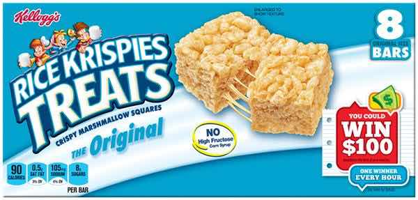 Rice Crispy Treats Printable Coupon