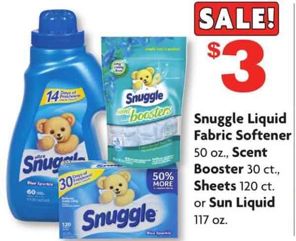 Printable Coupons And Deals Save On Snuggle Laundry Products At Family Dollar With This