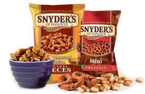 Snyder's Of Hanover Pretzel Products Printable Coupon