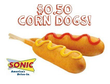 When Is Sonic  Corn Dog Day