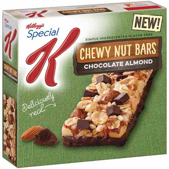 Special K Chewy Nut Bars Printable Coupon