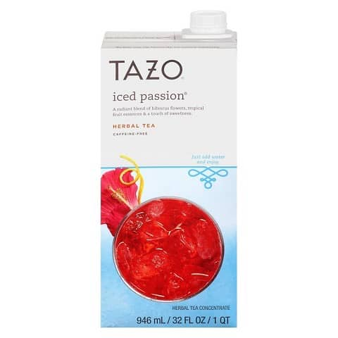 TAZO Iced Tea Concentrate Printable Coupon