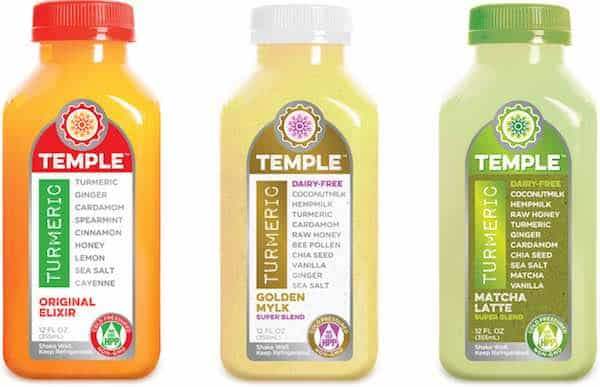 Temple Tumeric Drinks Printable Coupon