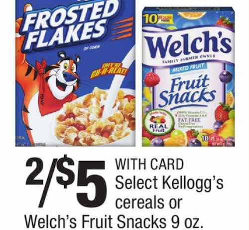 Welch's snacks Printable Coupon