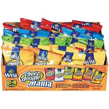 Wise Snacks Variety Pack Printable Coupon