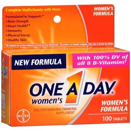 Women's One A Day Multivitamins Printable Coupon