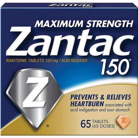 Zantac Maxium Strengh 150 65ct Printable Coupon