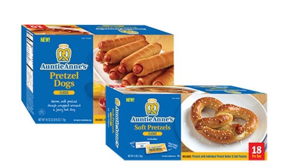 auntie annes frozen products Printable Coupon