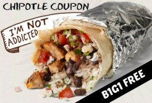 image relating to Chipotle Printable Coupon known as Chipotle Supply - Printable Discount codes and Bargains