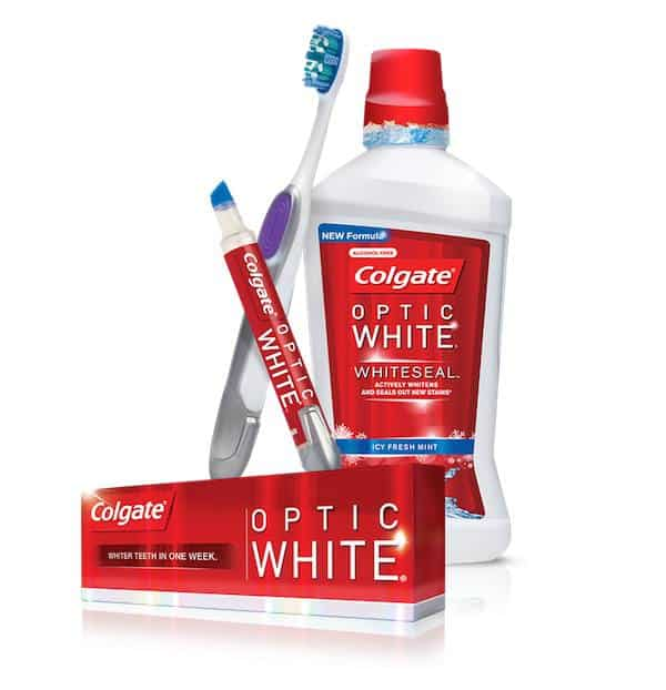 colgate optic white