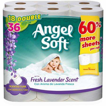 Angel Soft With Lavender Bath Tissue Printable Coupon