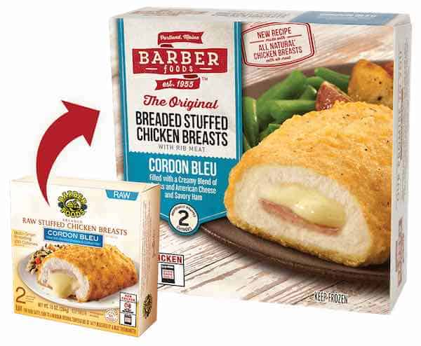 from barber foods for dinner tonight get $ 1 00 off barber foods ...