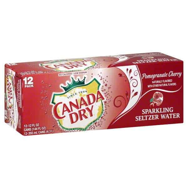 Canada Dry Sparknling Seltzer Water Printable Coupon