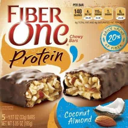 Fiber One Bars Printable Coupon