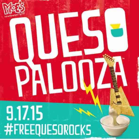 Free Queso At Moes