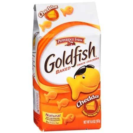 goldfish crackers clipart