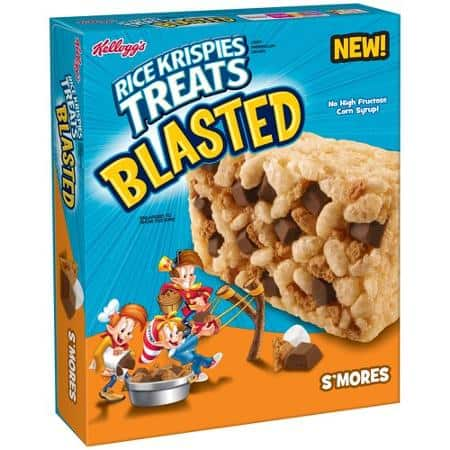 Kellogg's Rice Krispies Treats Blasted Printable Coupon