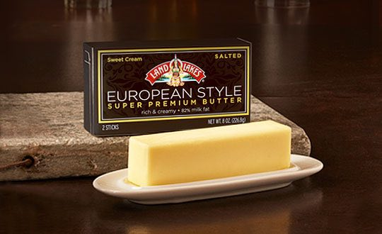LAND O LAKES European Style Super Premium Butter Printable Coupon