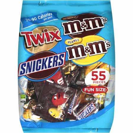 Mars Fun Size Candy Bags Printable Coupon